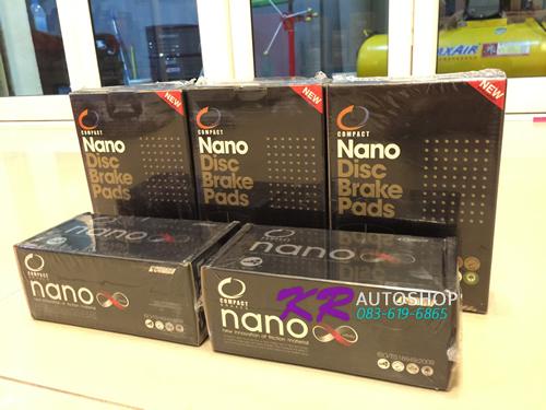 ผ้าเบรค Compact Nano